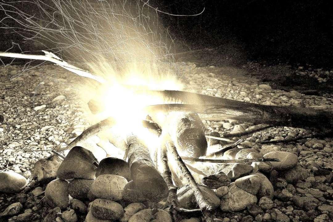 Feuermachen ohne moderne Hilfsmittel